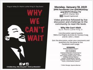 MLK Southern Oregon Event Jan 18