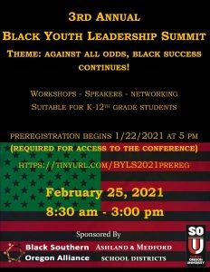 Black Youth Leadership Summit 2021